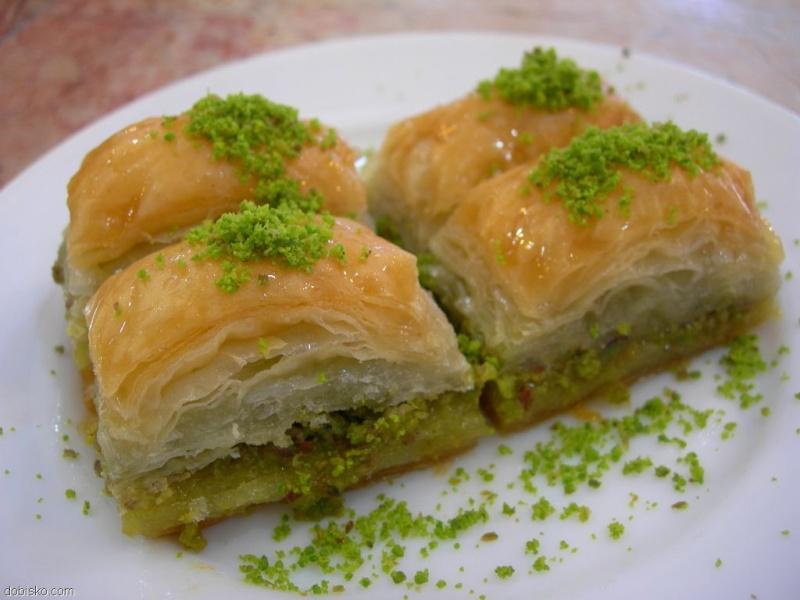 Patisseries du monde. Baklav10