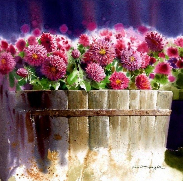 Les FLEURS  dans  L'ART - Page 2 Fl_art24