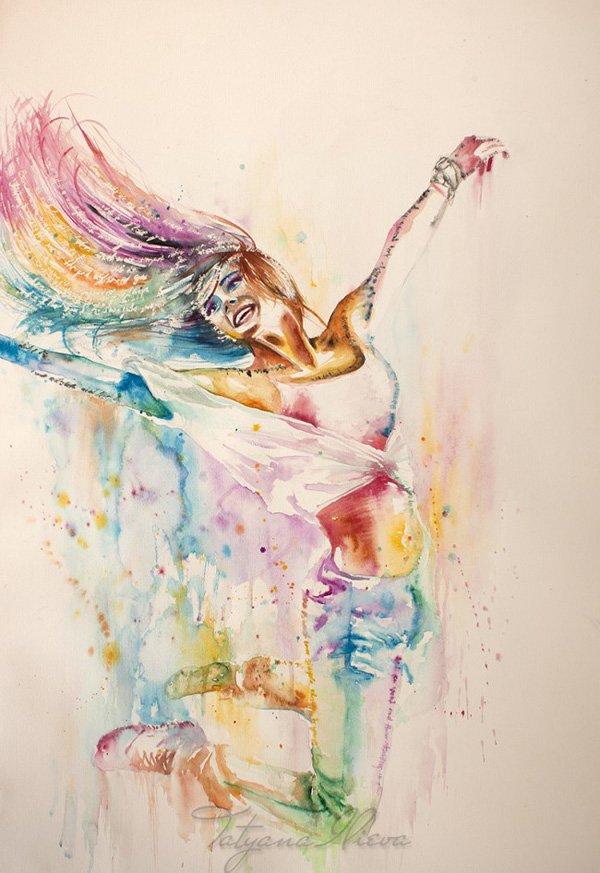 La  FEMME  dans  l' ART - Page 4 Ilieva10
