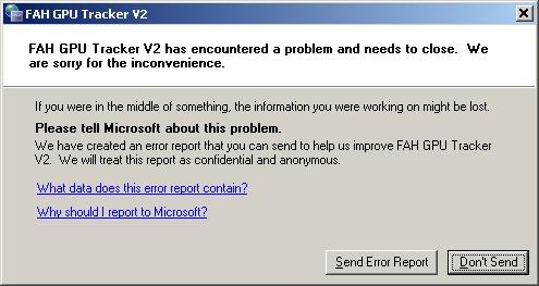 Error when trying to run program Error_11