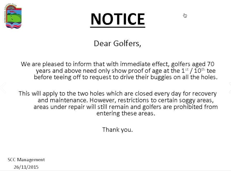 Golf courses compensation and Golf membership prices up up 70_yea10
