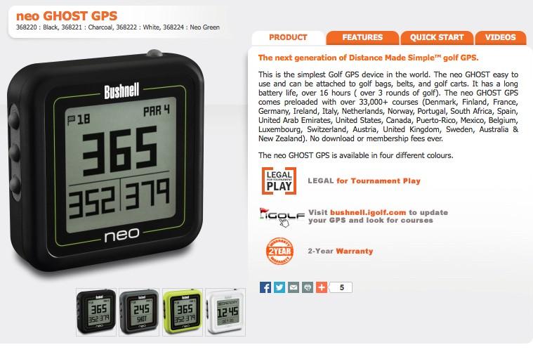 Golf GPS Watch Ghost_10