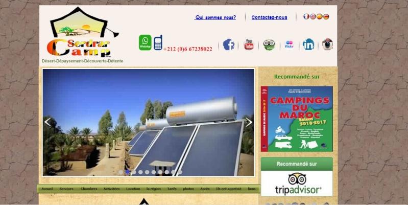 [Maroc Camp/Dernières nouvelles]  Camp Serdrar Tazzarine : Nouveau site internet en ligne Site_w12