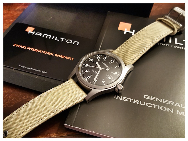 Hamilton khaki officer mechanical noir 20151115