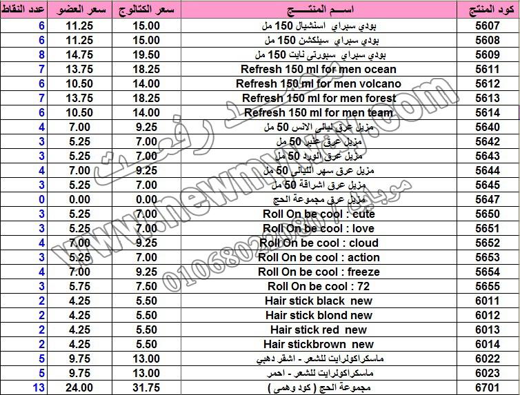 حصريا .. قائمة أسعار المنتجات في كتالوج شهر فبراير 2016  بسعر الكتالوج ... بسعر العضويه ... عدد النقاط 15_cop12