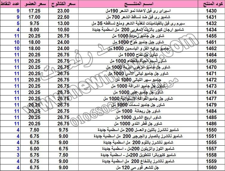 حصريا .. قائمة أسعار المنتجات في كتالوج شهر فبراير 2016  بسعر الكتالوج ... بسعر العضويه ... عدد النقاط 4_copy12