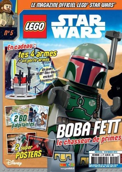 Magazine Panini STAR WARS LEGO #5 Captur10