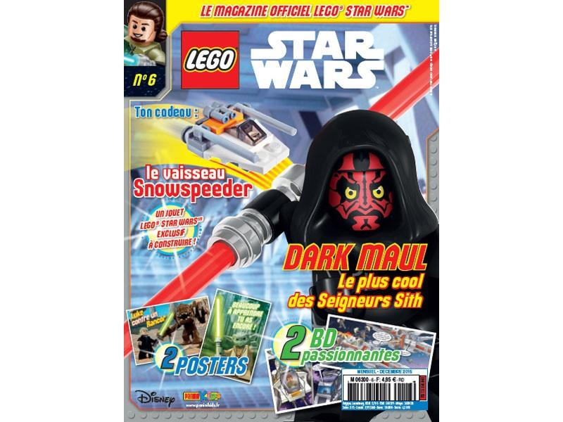 Magazine Panini STAR WARS LEGO #6 Fstwl010
