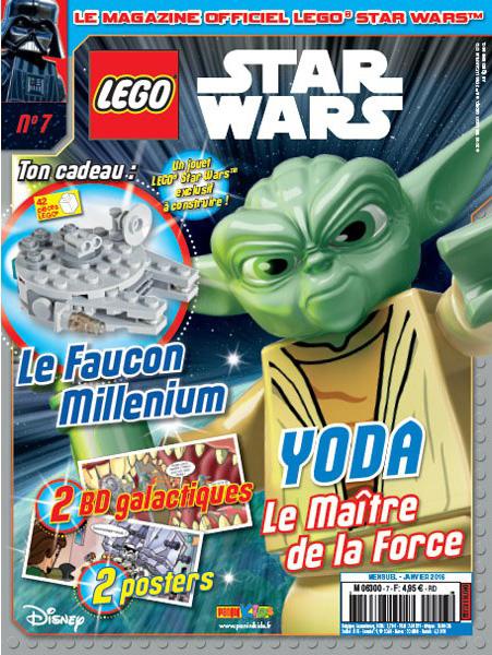 Magazine Panini STAR WARS LEGO #7 Fstwl011