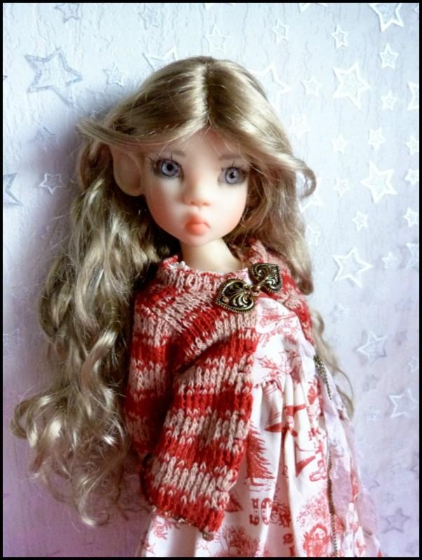 ma Miki Ophelie  dans son boudoir et en mauve P2 10840510