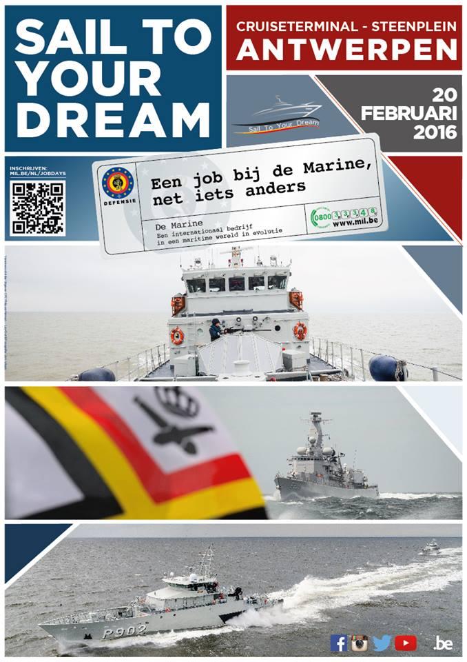 Visitez des navires de notre Marine à Anvers le 20.02.2016 12417711