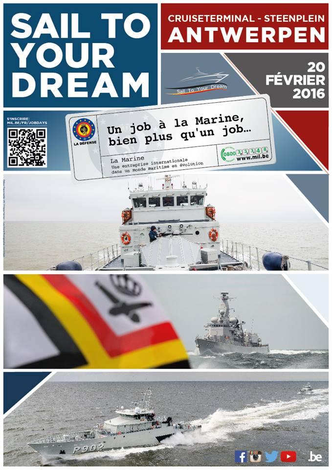 Visitez des navires de notre Marine à Anvers le 20.02.2016 19342413