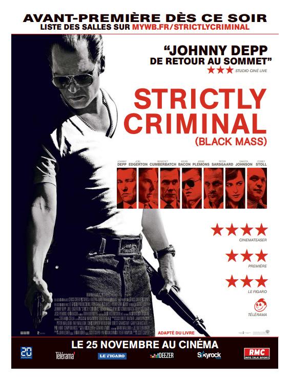 STRICTLY CRIMINAL : votre avis Blackm10