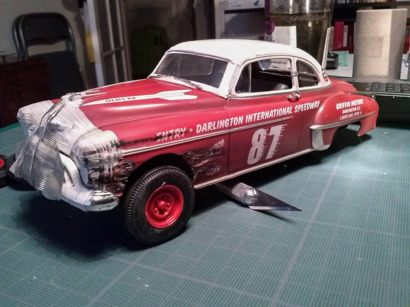 OLDS 1950 american stock car racing/REVELL TERMINEE!! - Page 2 12557610