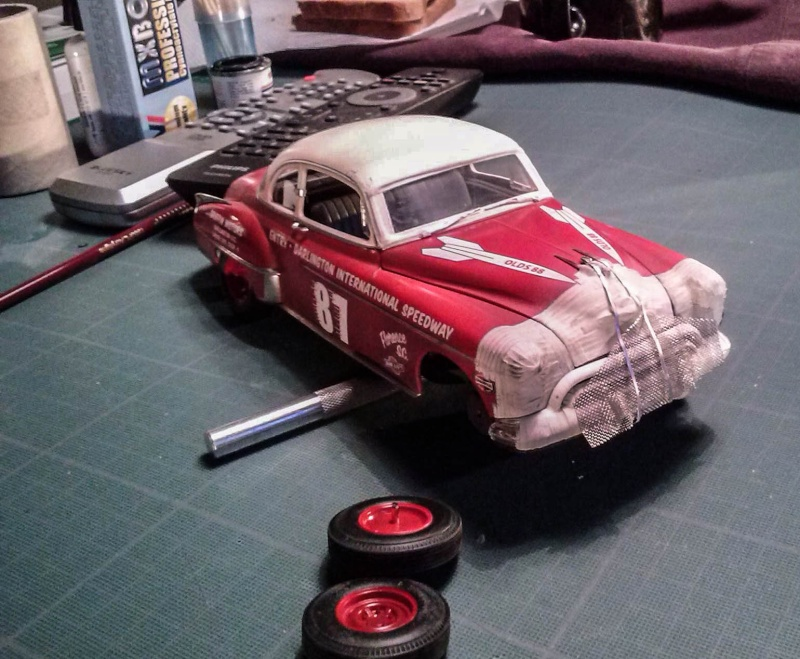 OLDS 1950 american stock car racing/REVELL TERMINEE!! - Page 2 12562510