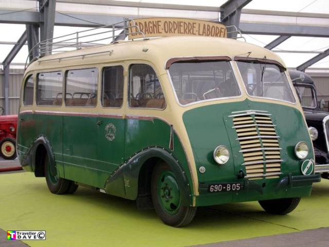 """Citroën Type 23RU car à cabine avancée """"BESSET"""" 1947  040210"""