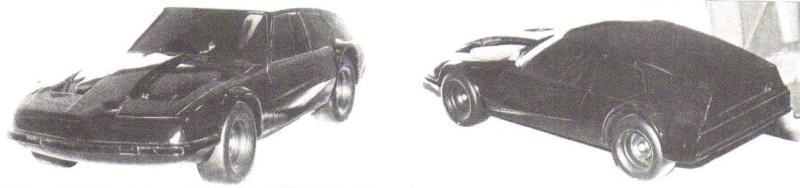 """Citroën de la D""""S"""" à la """"S""""M - TENTATIVE D'INVENTAIRE des PROTOTYPES  5637_y10"""