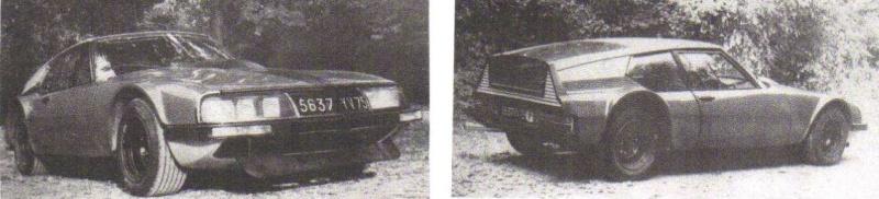 """Citroën de la D""""S"""" à la """"S""""M - TENTATIVE D'INVENTAIRE des PROTOTYPES  5637_y11"""