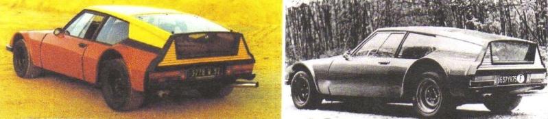 """Citroën de la D""""S"""" à la """"S""""M - TENTATIVE D'INVENTAIRE des PROTOTYPES  5637_y16"""