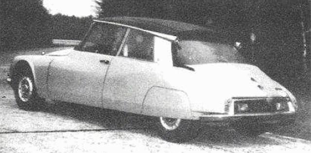"""Citroën de la D""""S"""" à la """"S""""M - TENTATIVE D'INVENTAIRE des PROTOTYPES  Briuol13"""