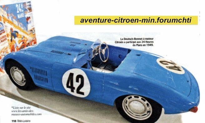 Citroën et Charles DEUTSCH & René BONNET - 1938 > 1949 Captur10