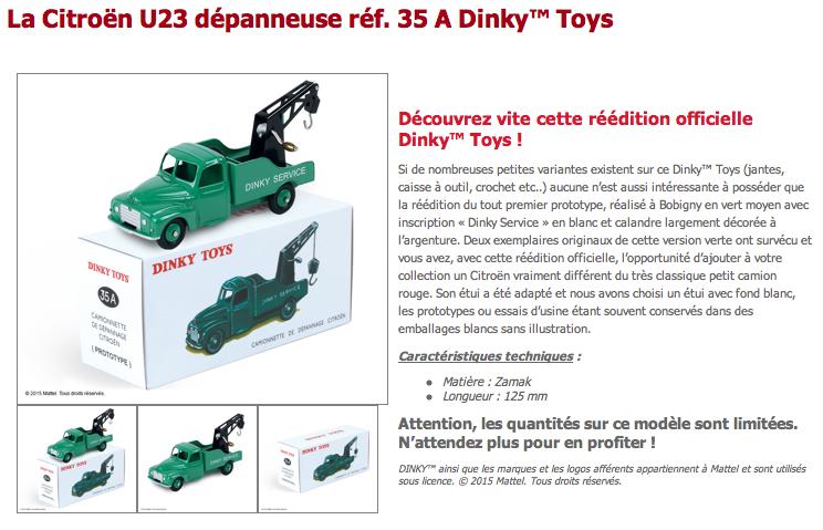 Editions ATLAS - Les Dinky™ Toys de Noël 2015 Captur10