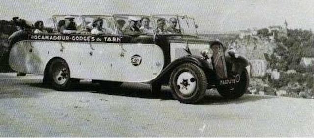 """Citroën type 23RU car torpédo """"CHASSAING"""" 1947 Captur34"""