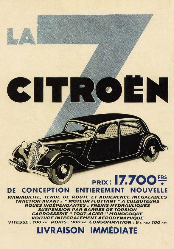 """La """"7"""" - LA VOITURE QUE TOUT LE MONDE ATTENDAIT... Citroe21"""