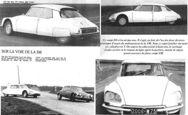 """Citroën de la D""""S"""" à la """"S""""M - TENTATIVE D'INVENTAIRE des PROTOTYPES  Coupy_10"""