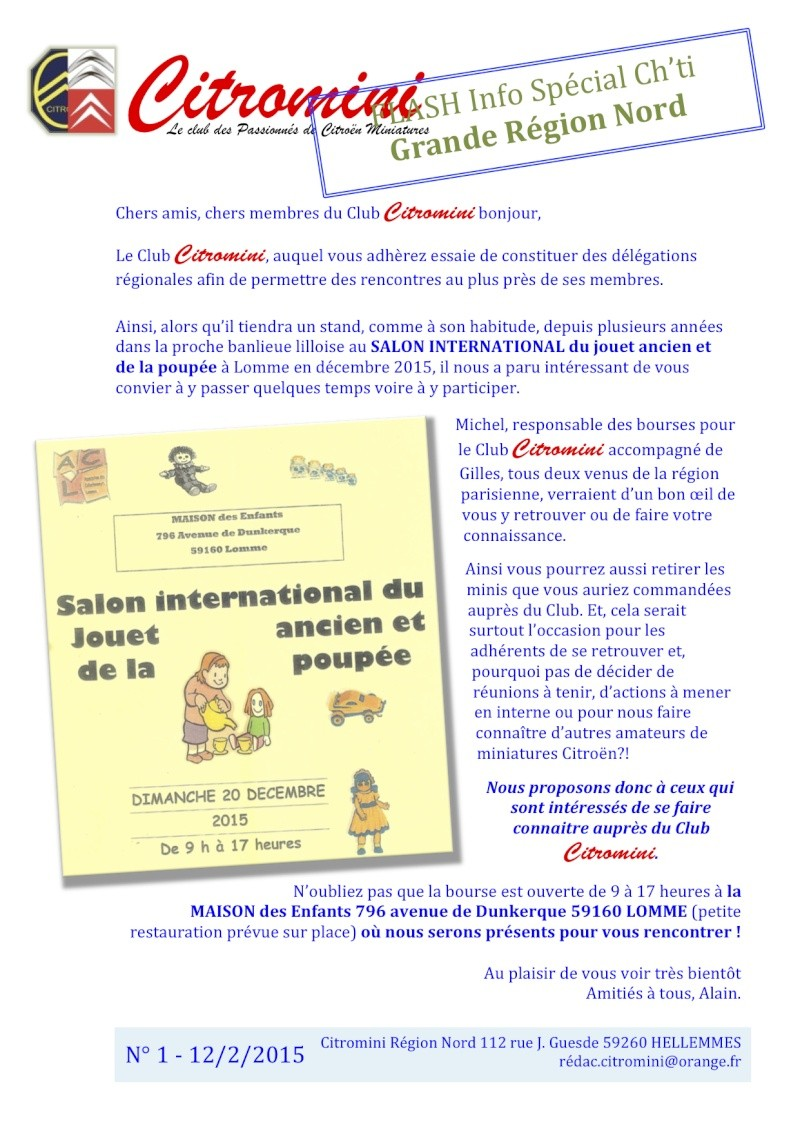 CALENDRIER HEBDOMADAIRE DES BOURSES & EXPOSITIONS 2015 PAR ERIC - Page 2 Flash_10