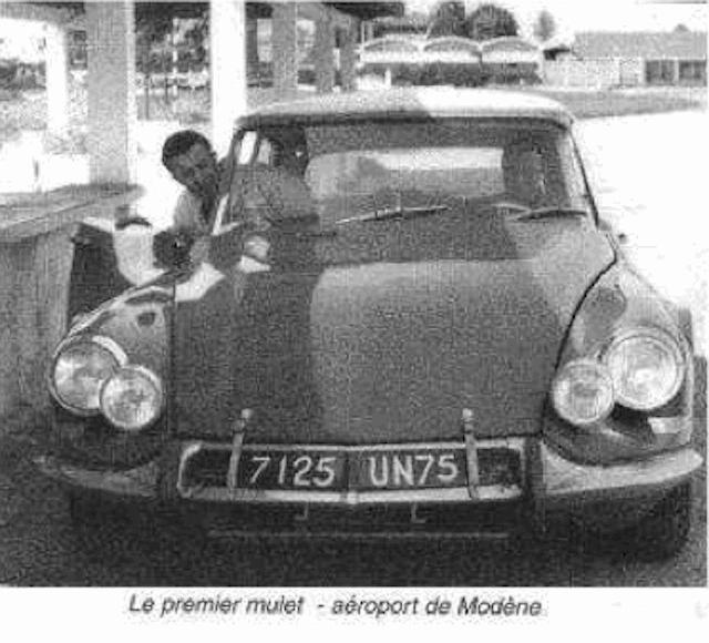 """Citroën de la D""""S"""" à la """"S""""M - TENTATIVE D'INVENTAIRE des PROTOTYPES  Proto610"""