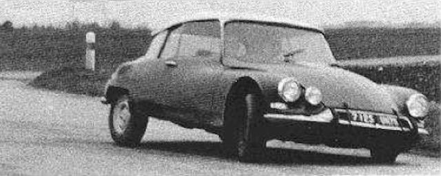 """Citroën de la D""""S"""" à la """"S""""M - TENTATIVE D'INVENTAIRE des PROTOTYPES  Proto612"""