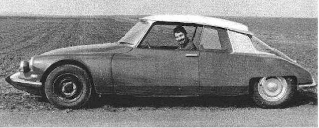 """Citroën de la D""""S"""" à la """"S""""M - TENTATIVE D'INVENTAIRE des PROTOTYPES  Proto613"""