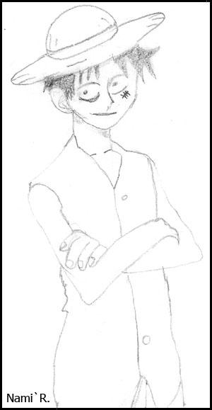 Les dessins de Nami Luffy10