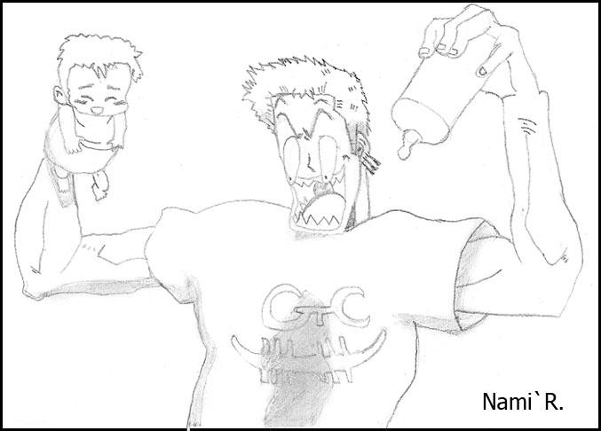 Les dessins de Nami Zorro410