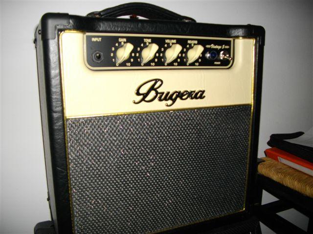 BUGERA 5v (1ères impressions sur cet ampli de 5 watts) Bugera12