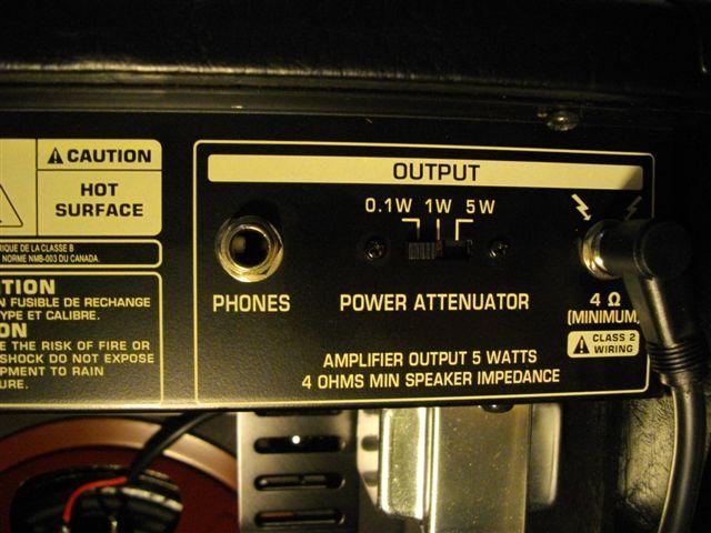 BUGERA 5v (1ères impressions sur cet ampli de 5 watts) Bugera17