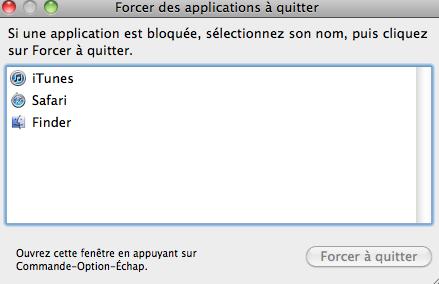 Forcer à quitter un logiciel  Captur19