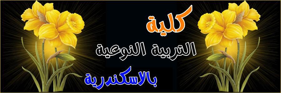 كلية التربية النوعية بالاسكندرية