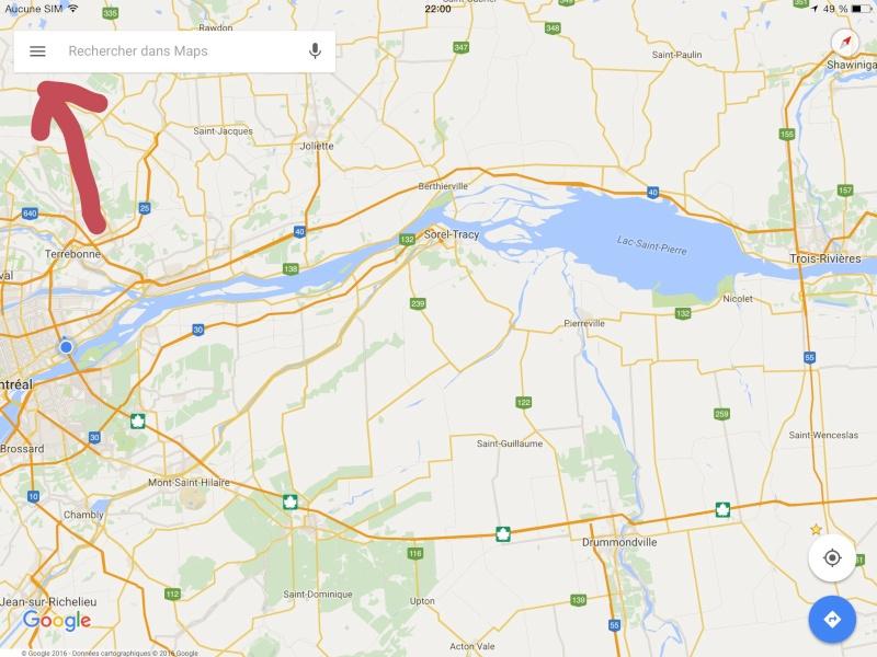 Navigation hors connexion avec Google Maps Image14