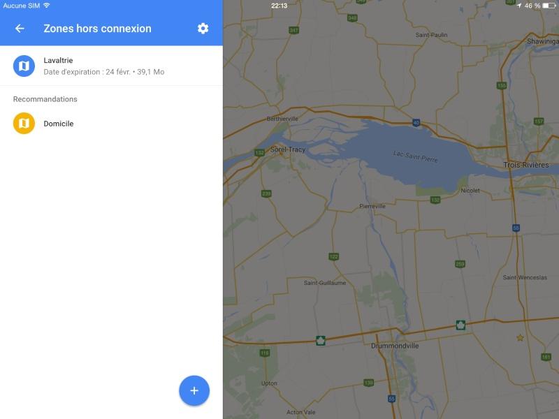 Navigation hors connexion avec Google Maps Image20