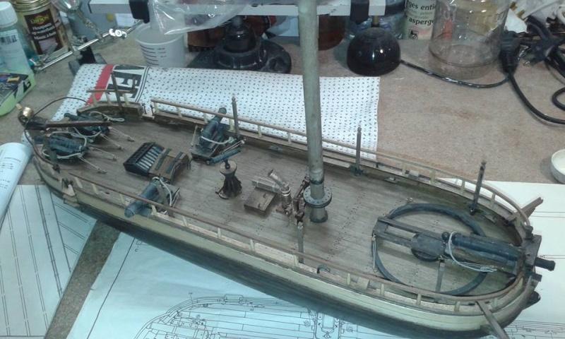 Canonnière Type 2 Belge (ex-Néerlandaise) MANTUA 1/43 par HUSSARD 12241410