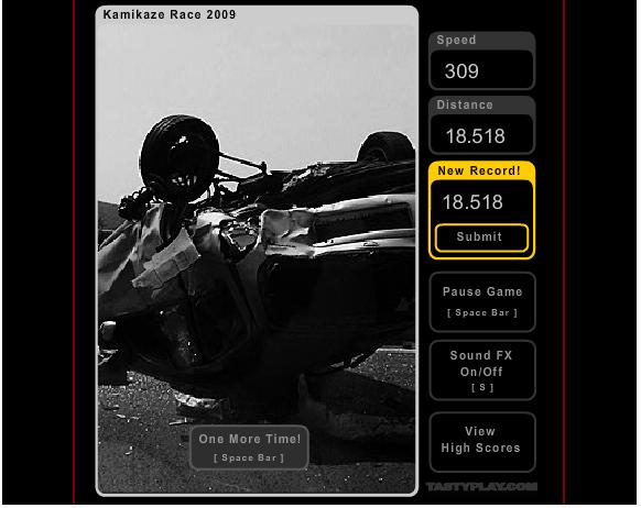 Game - Kamikaze Race Jeu10