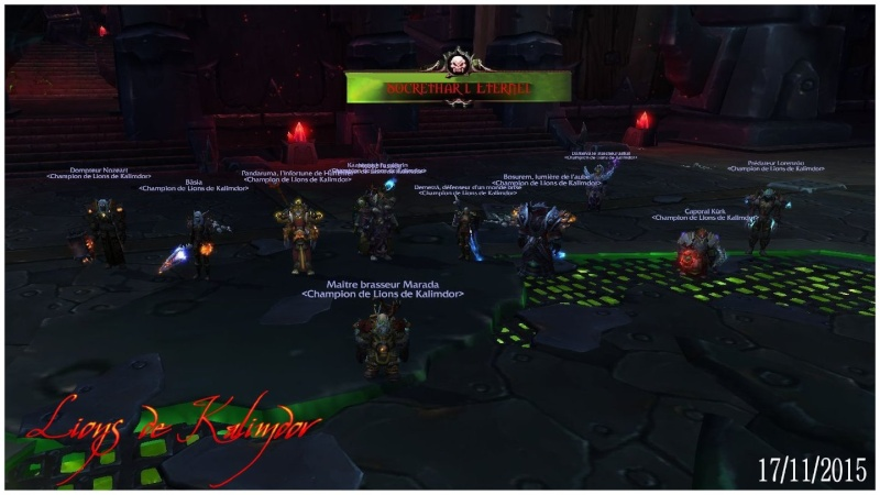 Le forum des Lions de Kalimdor - Portail Citade10