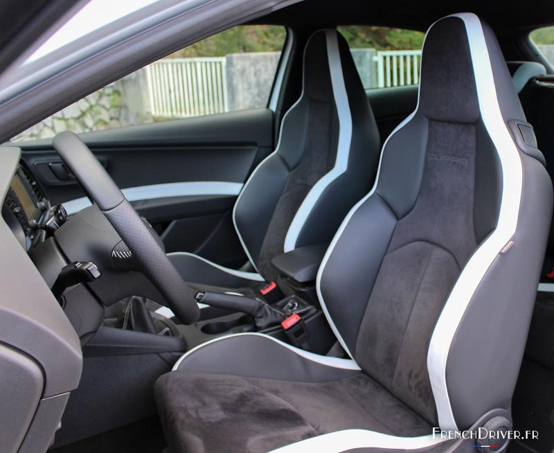 Seat Léon Cupra 5p - DSG6- tsi 290 gris étoile Essai-12