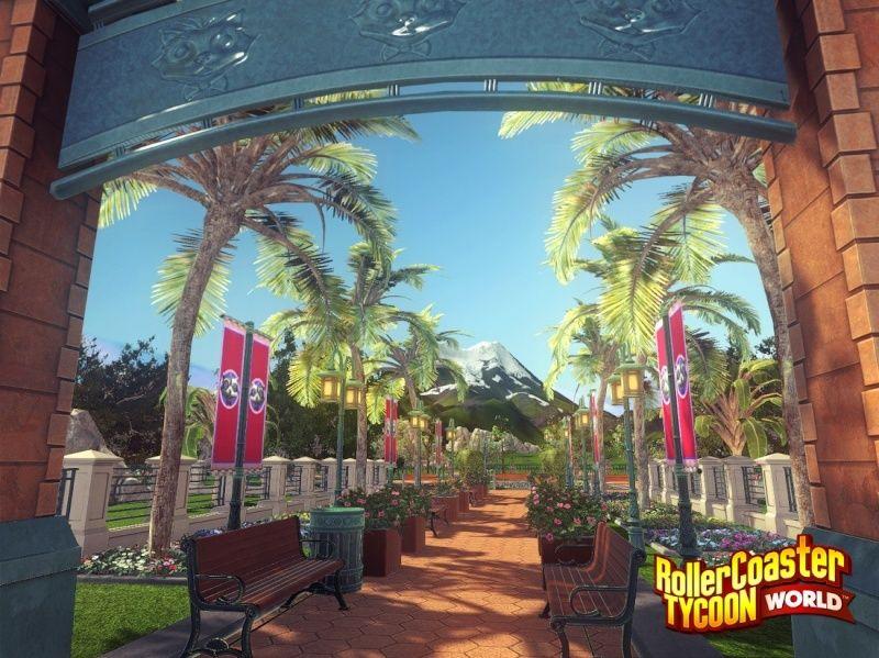 RollerCoaster Tycoon World Pathsh10