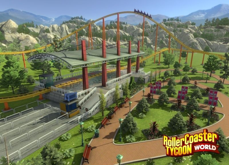 RollerCoaster Tycoon World Rctw-h10