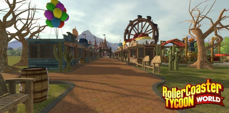RollerCoaster Tycoon World Rctw-m10