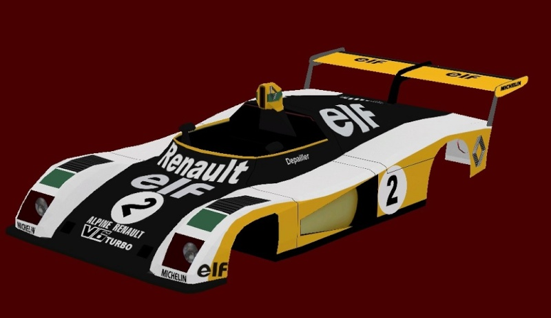 CAN-AM 42 CARS MOD / PORSCHE 936 AND LE MANS CARS 71-81 - Page 15 Alpine32