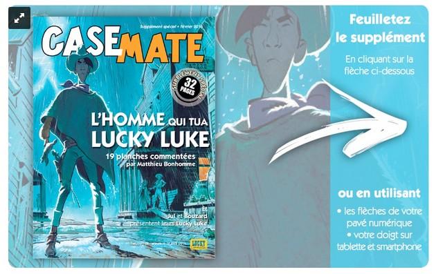 "Casemate n° 89 ""Lucky Luke remis en selle"" Ll10"